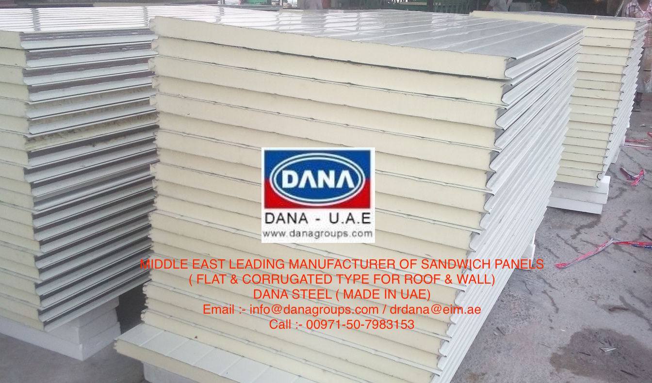Wall Flat Microribbed Dana Steel Uae Adding Value To