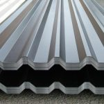 Profiled metal sheets