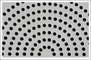 perforated sheet steel