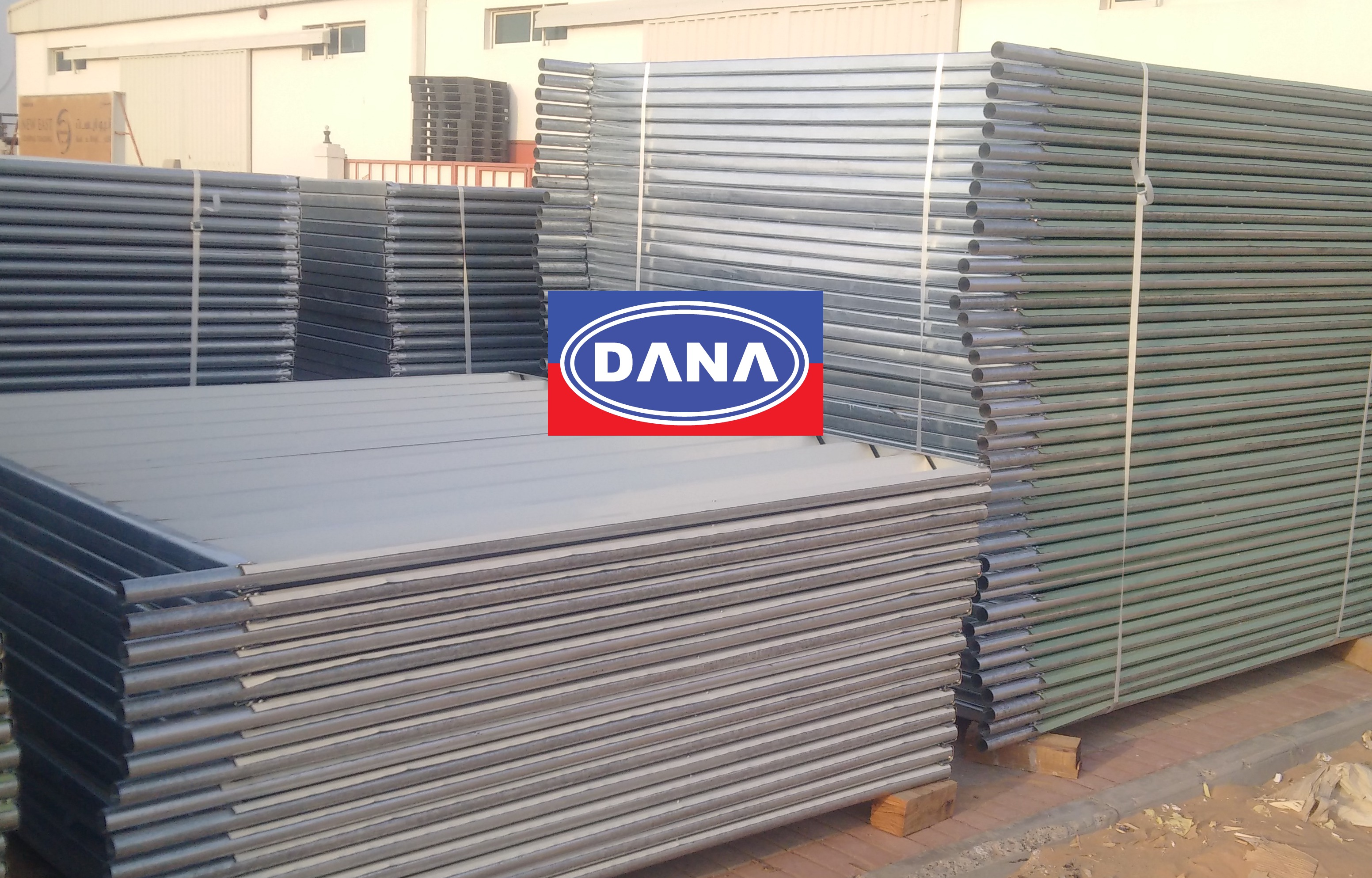 Corrugated Sheet Fencing in UAE Steel Shinko Supplier Dubai