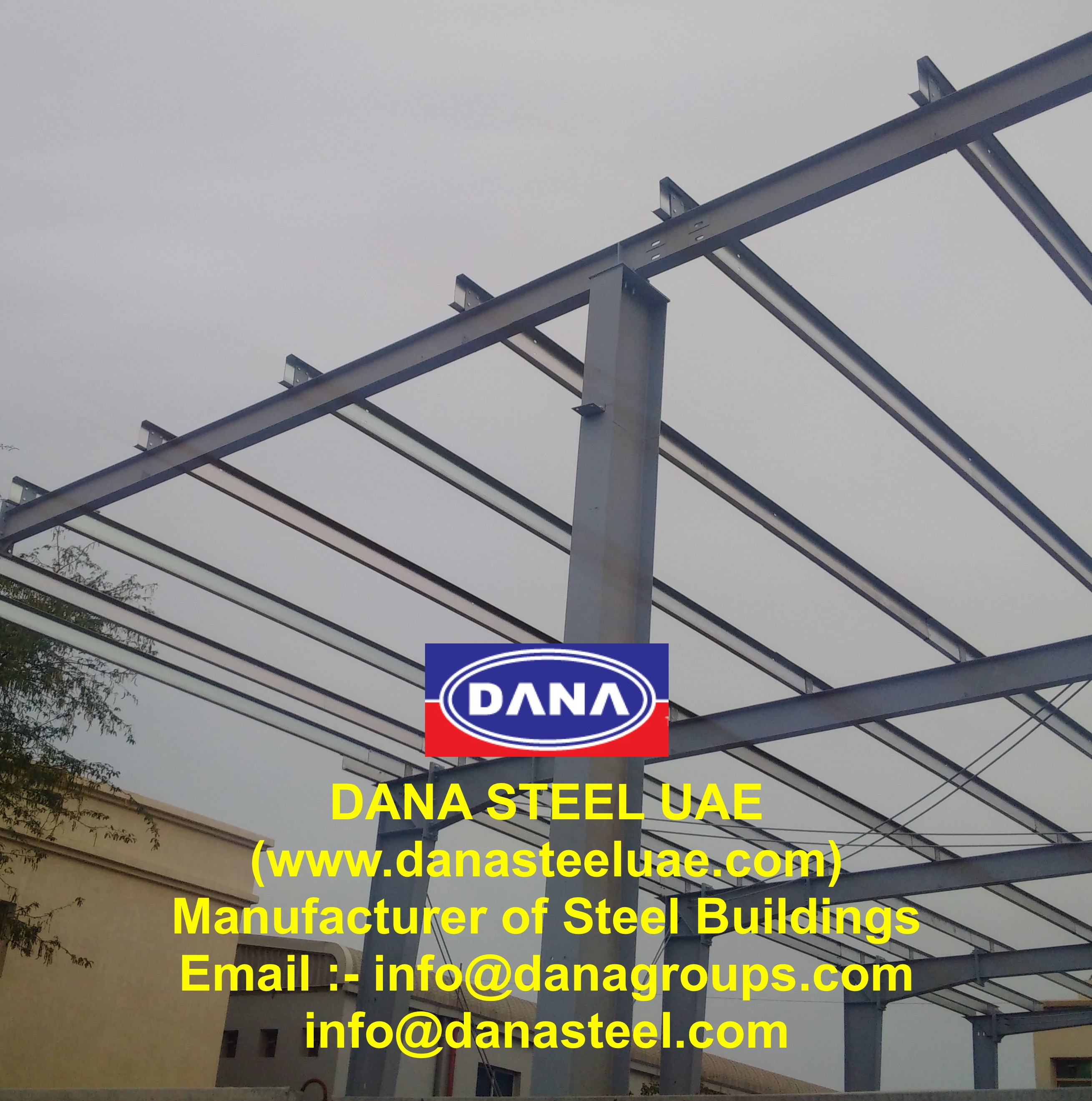 Z Purlins Floor Decking Sheet PEB Steel UAE Supplier - DANA