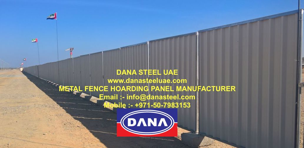 Temporary Fencing Steel Aluminum Shinko Hoarding Panel
