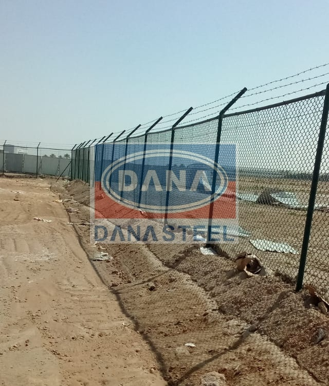 Chainl Link PVC Coated Fence Supplier in UAE DubAi
