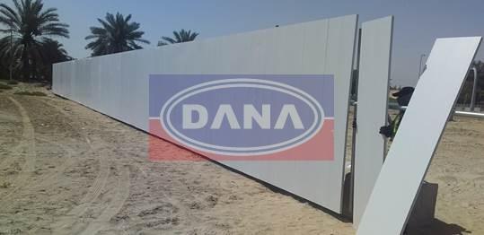 dubai lightweight pvc fencing supplier installer