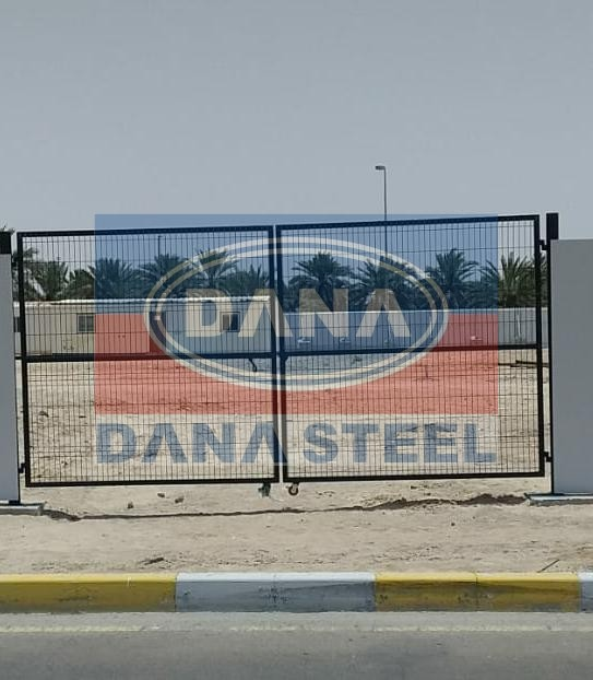 temporary fencing gate supplier uae