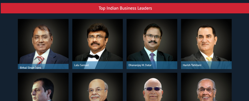 Top 30 indian business leaders in middle east
